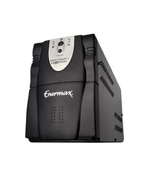 23.15.001P-USB - Enermax - Nobreak Senoidal Magic Power II 1500 02 Bateria SEL.BIV.AUT./115V Preto