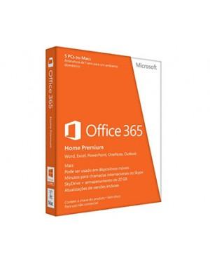 6GQ-00119 - Microsoft - Office 365 Home Premium 32/64bits
