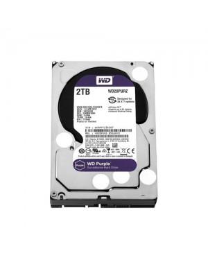WD20PURZ - Western Digital - Disco Rígido 2TB Purple SATA 5400RPM