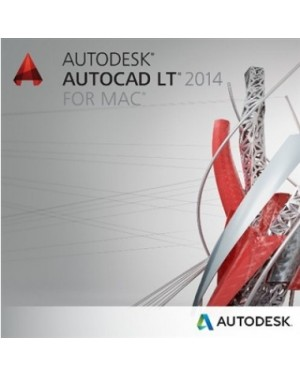 827F10551151001MD - Autodesk - AutoCad LT 2014 MAC