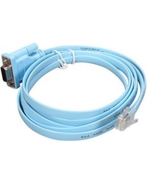 CAB-CONSOLE-RJ45= - Cisco - Cabo Console 6ft com RJ45 e DB9F