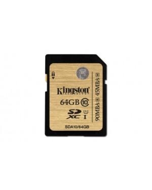 SDA10/64GB - Kingston - Cartão de Memoria SDHC 64GB Classe 10 Ultimate