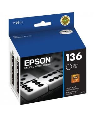 T136126-AL - Epson - Cartucho Preto Ultra para Workforce K101 e K301