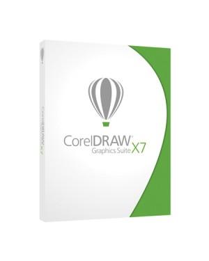 CDGSX7ESBPDBUGAM - Corel - Draw Graphics Suite X7 DVD