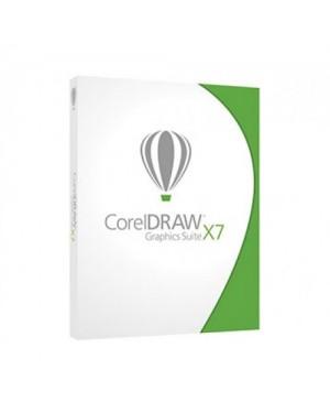 CDGSX7ESBPDBAM - Corel - Draw Graphics Suites X7 DVD BOX