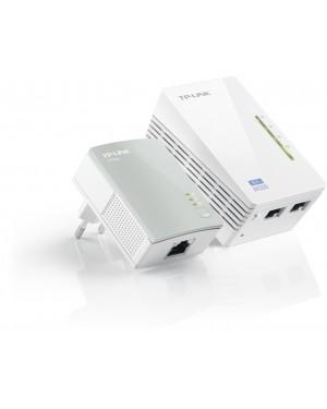 TL-WPA4220KIT - TP-Link - Extensor de Alcance Wifi Power Line 300Mbps