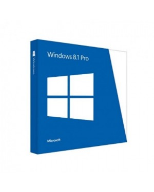 FQC-07325licc-i - Microsoft - Windows 8.1 Pro 32/64 Bits FPP
