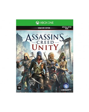 1122649436 - Outros - Jogo Assassins Creed Unity Xone Ubisoft