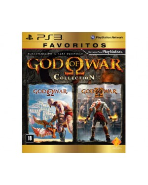 321018 - Sony - Jogo Gol Of War Collection PS3