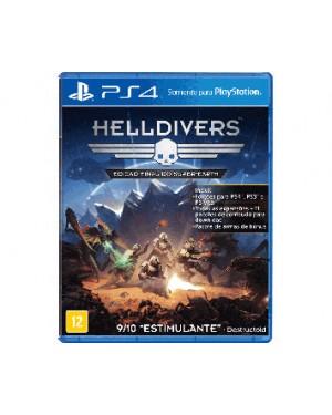 P4SA00716001FGM - Sony - Jogo Helldivers PS4 Edição Final do Super Earth