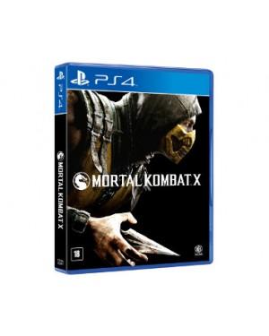 WG0957AN - Warner - Jogo Mortal Kombat X PS4