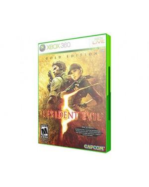 CP2423XN - Outros - Jogo Resident Evil 5 Gold Edition Xbox 360 Capcom