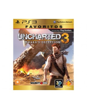 321024 - Sony - Jogo Uncharted 3 Drakes Deception PS3