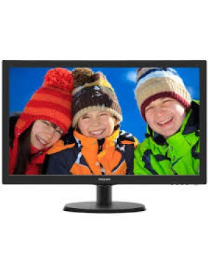 223V5LHSB2 - Philips - Monitor LED 21.5 Full HD HDMI N