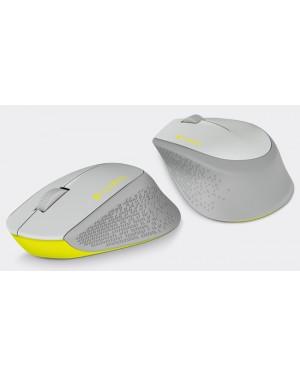 910-004285 - Logitech - Mouse Óptico sem Fio M280 Cinza
