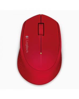 910-004286 - Logitech - Mouse Sem Fio M280 Vermelho