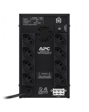 BZ1500PBI-BR - APC - Nobreak Back-UPS, 1500VA 1,5kVA, Bivolt, Torre
