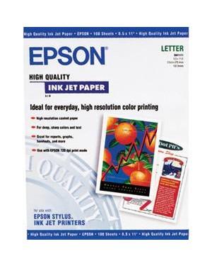 S041117 - Epson - Papel Fotográfico Papel Fosco Quality A4 100 Folhas