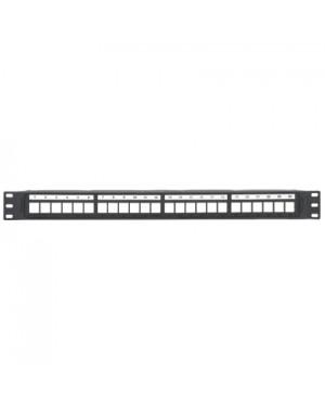 NKPP24P - Outros - Patch Panel com 24 Portas Modular Descarregado Preta Panduit