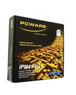 IPM41-D3 - Pcware - Placa Mãe PCWARE
