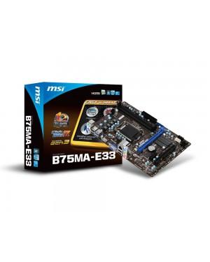 B75MA-E33 - MSI - Placa mãe
