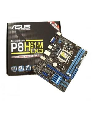 P8H61-M LX3 R2.0 - Asus - Placa Mãe P8H61-M