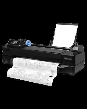 "CQ891A#B1K - HP - Impressora plotter Designjet T120 ePrinter 24"" 9.3 ppm A1 com rede"