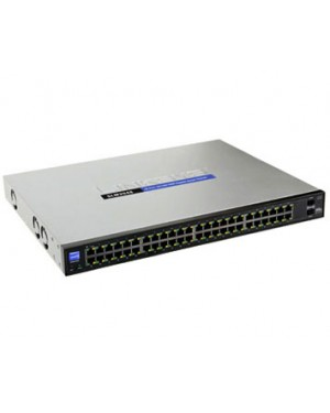 SLM2048T-NA - Cisco - Switch Giga 48 Portas 10/100/1000 +2SFP