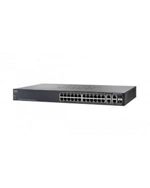 SRW2024-K9-NA - Cisco - Switch PoE SG3000 24 Portas