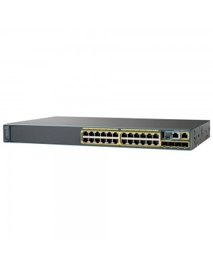 WS-C2960X-24TS-LL - Cisco - Switch Gigabit 2960X 24port Lan Lite