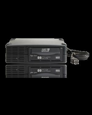 DW027B_S - HP - Tape Drive Externo DAT 72 USB 2.0
