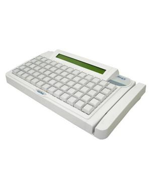 004.0646.8 - Gertec - teclado TEC-65 PS2 Branco Display
