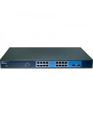 TEG-160WS - Outros - Switch Gigabit com 16x 10/100/1000 Mbps RJ45 + 2x mini-GBIC TRENDnet