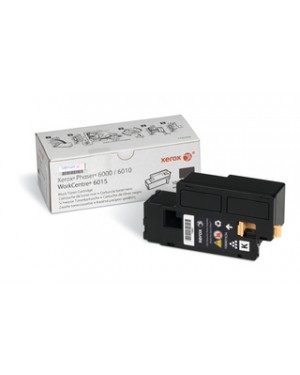 106R01634-NO - Xerox - Cartucho de toner original xerox preto phaser 6000/6010/6015