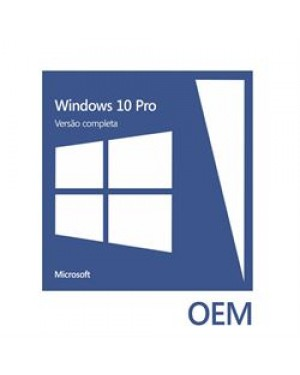 FQC-08932 LIC - Microsoft - Windows 10 Professional 64Bits OEI DVD