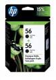 C9319FL - HP - Cartucho de tinta 56 preto Deskjet 5550