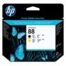 C9381A - HP - Cabeca de impressao 88 preto amarelo Officejet Pro L7480 K550 K5400