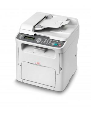 01267601 - OKI - Impressora multifuncional MC160n laser colorida 20 ppm A4 com rede