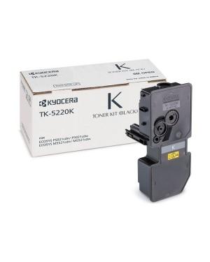 0T2R90N1 - KYOCERA - Toner TK-5220 preto ECOSYS M5521cdn M5521cdw P5021CDN P5021cdw
