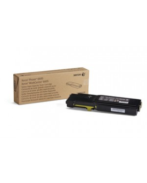 106R02235 - Xerox - Toner amarelo Phaser 6600 WorkCentre 6605