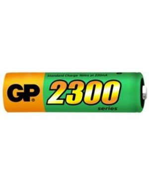 120P230AAHCC4 - GP Batteries - NiMH rechargeable batteries 230AAHC. Size AA.