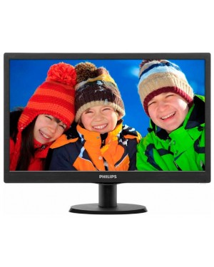 193V5LSB2 - Philips - Monitor LED 18.5 HD/VGA/VESA N