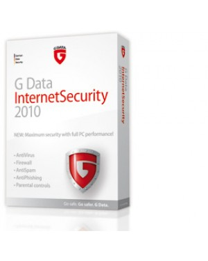20161 - G DATA - Software/Licença InternetSecurity 2010, 3 25 Users, 1 Year