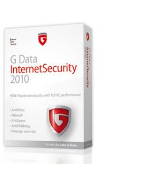 20189 - G DATA - Software/Licença InternetSecurity 2010