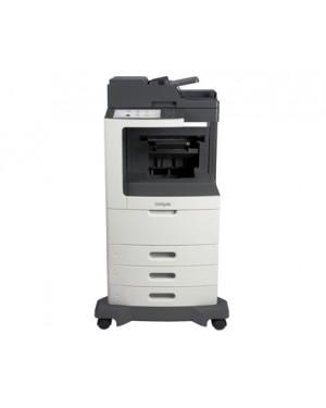 24TT235 - Lexmark - Impressora multifuncional MX812dte laser monocromatica 80 ppm A4 com rede