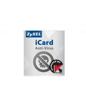 3748 - ZyXEL - Software/Licença iCard Kaspersky AV