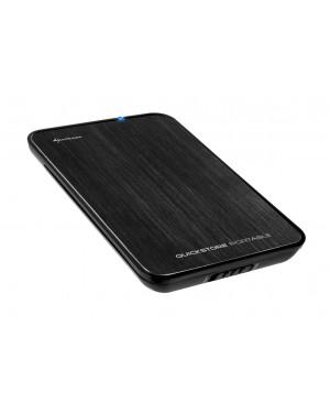 """4044951009664 - Sharkoon - HD externo 2.5"""" SATA SATA II 500GB"""