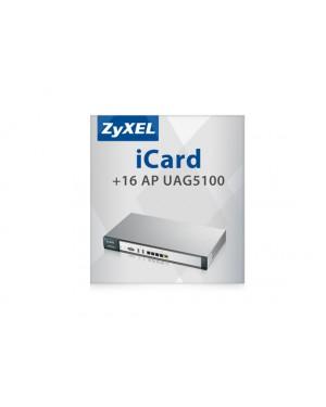 4767 - ZyXEL - Software/Licença UAG5100 iCard 16 AP
