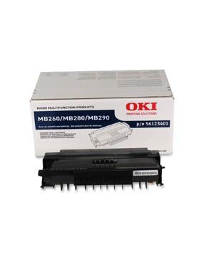 56123401 - OKI - Toner preto MB260 MFP MB280 MB290