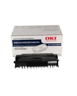 56123402 - OKI - Toner preto MB260 MFP MB280 MB290